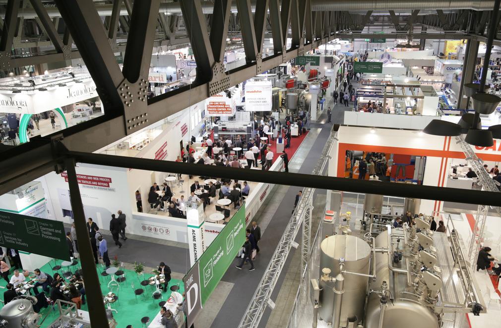 La Feria de Milano acogió la última edición del certamen. FOTO: ITMA